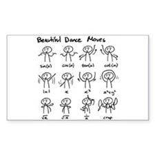 Beautiful (math) dance moves Decal