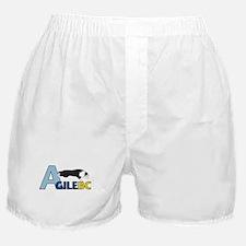 Black AgileBC Logo Boxer Shorts