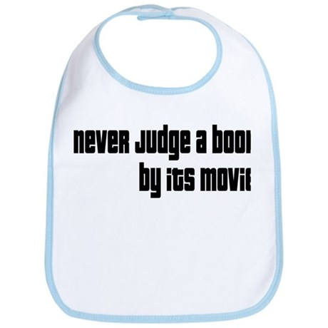 Never Judge A Book By Its Movie Bib