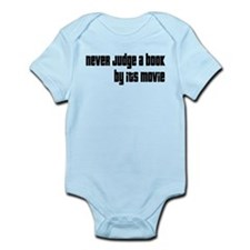 Never Judge A Book By Its Movie Infant Bodysuit