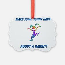 Adopt a Rabbit Month Ornament