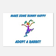 Adopt a Rabbit Month Postcards (Package of 8)