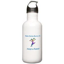 Adopt a Rabbit Month Water Bottle