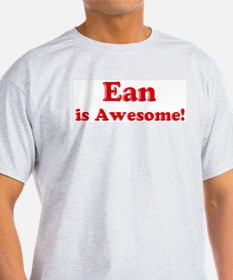 Ean is Awesome Ash Grey T-Shirt