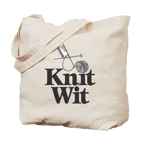 Knit Wit Tote Bag