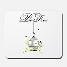 be free, open birdcage with birds and branches Mou