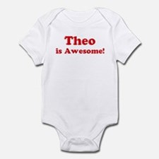 Theo is Awesome Infant Bodysuit