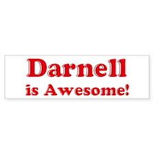 Darnell is Awesome Bumper Bumper Sticker