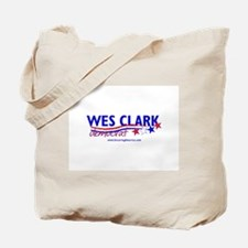 """Wes Clark Dem"" Tote Bag"