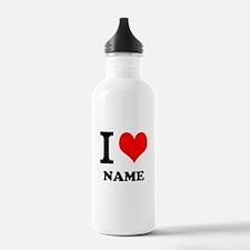 I Heart Water Bottle