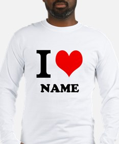 I Heart Long Sleeve T-Shirt