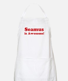 Seamus is Awesome BBQ Apron