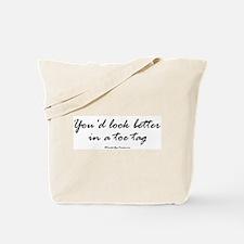 Toe Tag Tote Bag