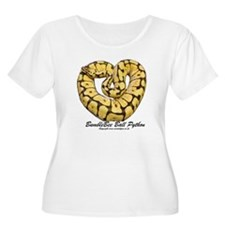 Bumblebee Ball Python Plus Size T-Shirt