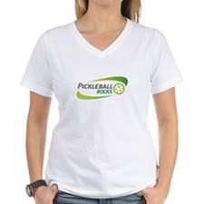 Pickleball Rocks Light Colored T-Shirt