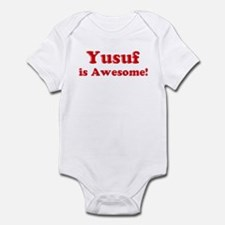 Yusuf is Awesome Infant Bodysuit
