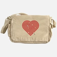I Love Alissa Messenger Bag