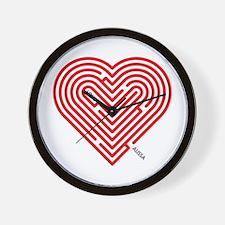 I Love Alissa Wall Clock