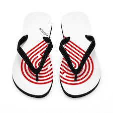 I Love Allyson Flip Flops