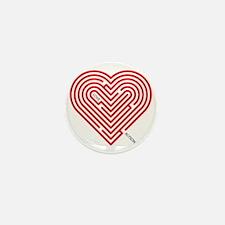 I Love Alyson Mini Button