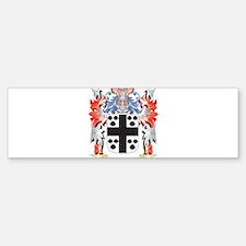 Wesley Coat of Arms - Family Crest Bumper Bumper Bumper Sticker