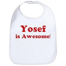 Yosef is Awesome Bib