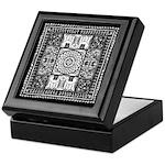 Indian Folk Art Keepsake Box