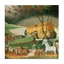 Noah's Ark Ceramic Tile