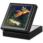 Russian Firebird Fairytale Keepsake Box