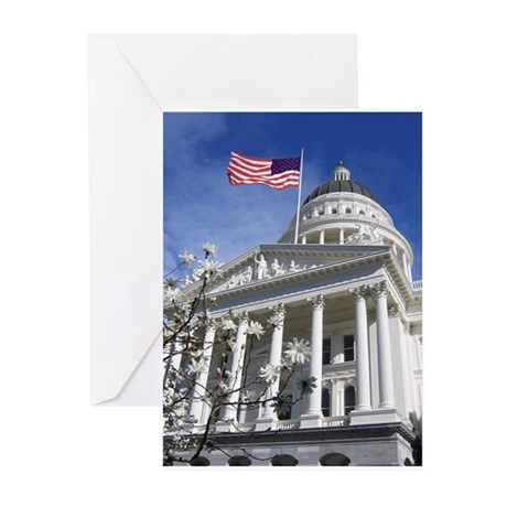 California State Capitol, Sac Greeting Cards (Pack