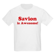 Savion is Awesome Kids T-Shirt