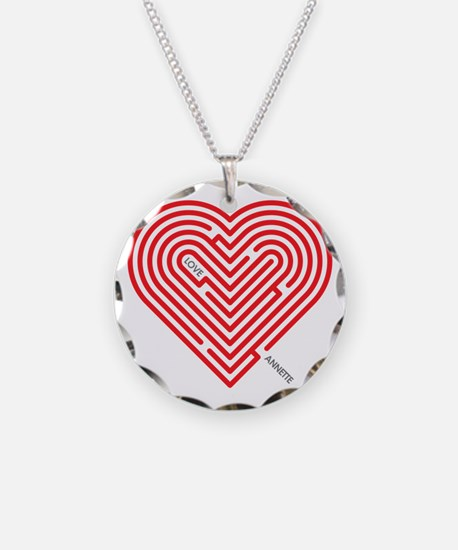 I Love Annette Necklace