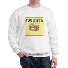 Swimmer Please Feed Sweatshirt