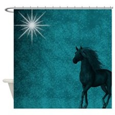 Twilight Horse Shower Curtain