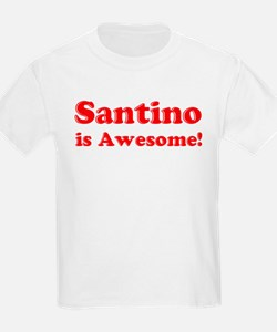 Santino is Awesome Kids T-Shirt