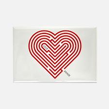 I Love Ashlee Rectangle Magnet