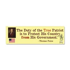 True Patriot Car Magnet 10 x 3