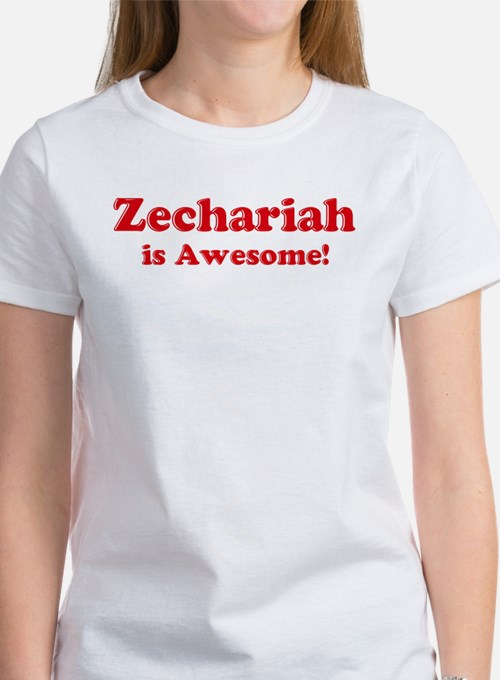 Zechariah is Awesome Tee