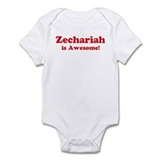 Zechariah is Awesome Infant Bodysuit