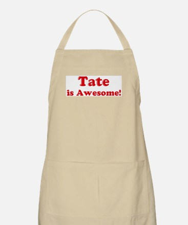 Tate is Awesome BBQ Apron