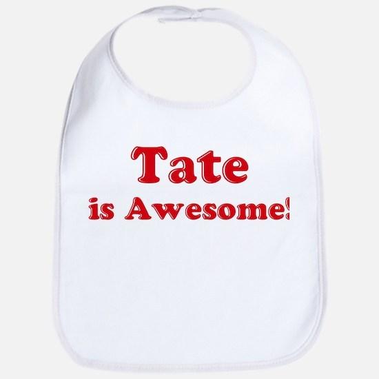 Tate is Awesome Bib