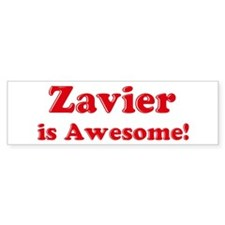 Zavier is Awesome Bumper Bumper Sticker