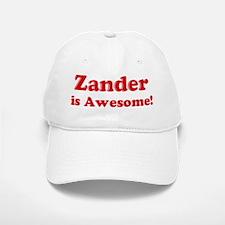 Zander is Awesome Baseball Baseball Cap