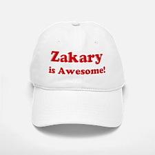 Zakary is Awesome Baseball Baseball Cap