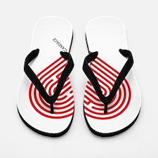 I Love Candace Flip Flops