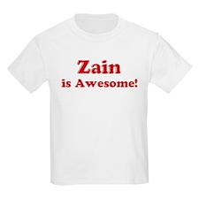 Zain is Awesome Kids T-Shirt