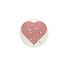 I Love Cara Mini Button