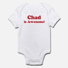 Chad is Awesome Onesie