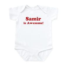 Samir is Awesome Infant Bodysuit