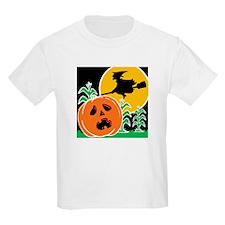 Jack-o-Lantern Spook Kids T-Shirt